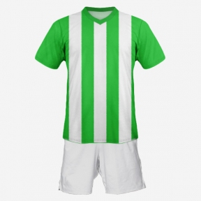 Футбольная форма Playfootball (green-white)