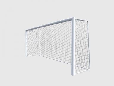 Футбольная сетка на ворота 7,5*2,5*0,8*2 (на дуги, полипропилен)