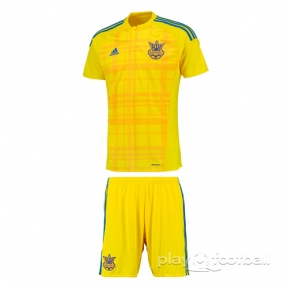 Футбольная форма сборной Украины Евро 2016 (home Ukraine)