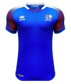 Футболка сборной Исландии Чемпионат Мира 2018 синяя