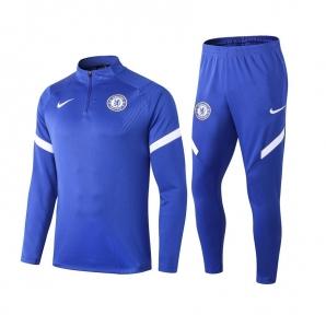 Тренировочный спортивный костюм Челси 2020/2021 синий