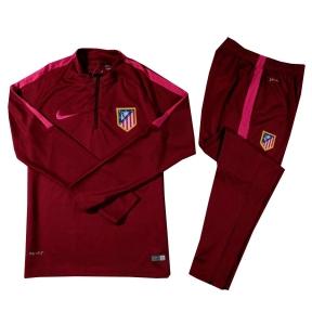Тренировочный спортивный костюм Атлетико Мадрид 2016/2017 бордовый