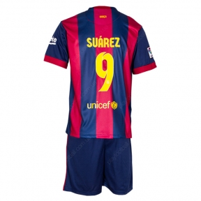 Футбольная форма Барселоны 2014/2015 Суарез (Barcelona home replica 2014/2015 Суарез)