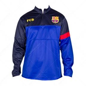 Спортивная кофта Барселона (кофта FCB blue)