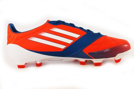Футбольные бутсы Adidas F50 Adizero TRX FG (red-orange-blue)