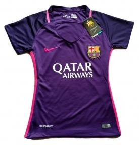 Футболка женская Барселоны 2016/2017 фиолетовая
