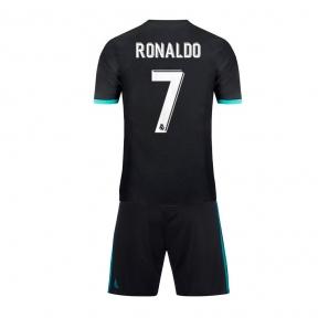 Детская футбольная форма Реал Мадрид 2017/2018 Роналдо выездная
