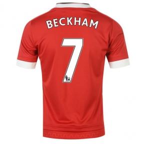 Футболка Manchester United stadium home 2015/16 Beckham