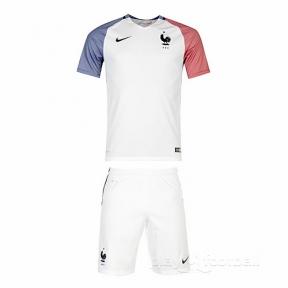 Футбольная форма сборной Франции Евро 2016 (away France)