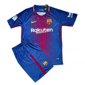 Детская футбольная форма Барселона 2017/2018 stadium домашняя