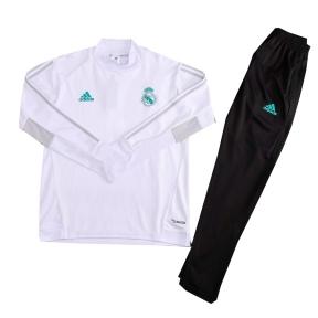Тренировочный спортивный костюм Реал Мадрид 2017/2018 белый
