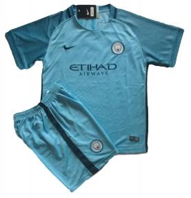 Детская футбольная форма Манчестер Сити голубая 2016/2017