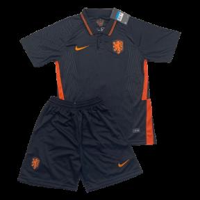 Футбольная форма сборной Голландии на Евро 2020 выездная черная