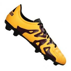 Футбольные детские бутсы Adidas X 15.3 FG/AG J Leather (S32061)