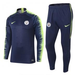 Тренировочный спортивный костюм Манчестер Сити 2018/2019 сине-зелёный