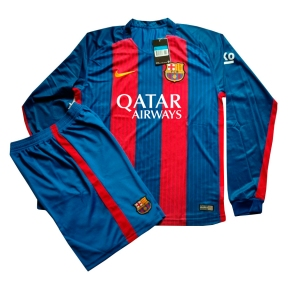 Футбольная форма Барселоны 2016/2017 (Barcelona home 2016/2017) д/р