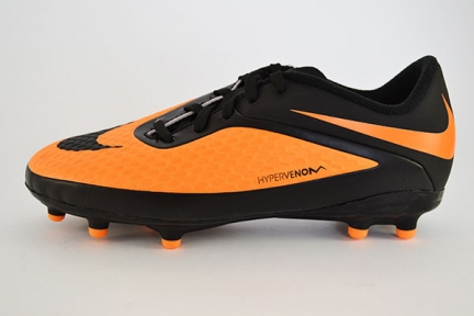 Детские футбольные бутсы Nike JR HyperVenom Phelon FG (599062-008)