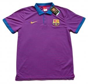 Футболка поло Барселоны 2016/2017 фиолетовый