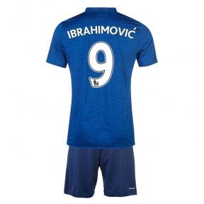 Детская футбольная форма Манчестер Юнайтед Ибрагимович выезд 2016/2017 (JR Ибрагимович выезд 2016/2017)
