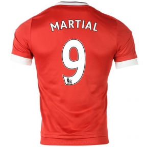 Футболка Manchester United stadium home 2015/16 Martial