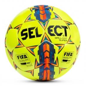 Футбольный мяч SELECT BRILLANT SUPER FIFA жёлтый (361592-yellow)