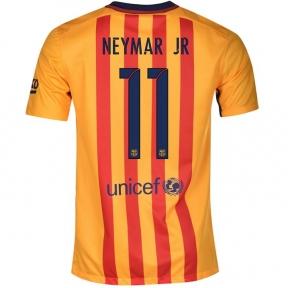 Футболка Barcelona away stadium 2015/16 NEYMAR JR. 11