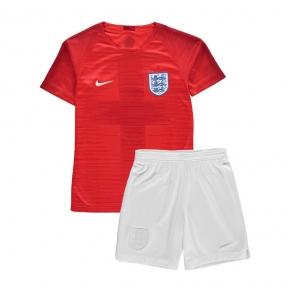 Детская футбольная форма сборной Англии Чемпионат Мира 2018 красная