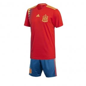 Футбольная форма сборной Испании Чемпионат Мира 2018 красная