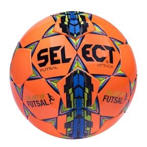 Футзальный мяч Select Attack оранжевый (107343-orange)