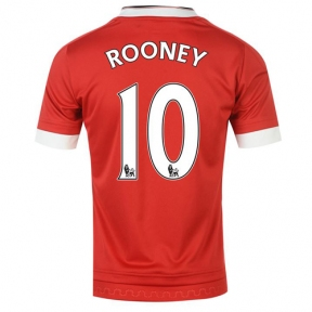 Футболка Manchester United stadium home 2015/16 Rooney