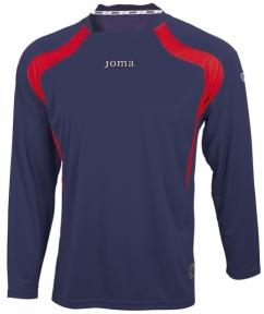 Футболка Joma Champion фиолетовая (длинный рукав)