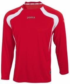 Футболка Joma Champion красная (длинный рукав)
