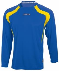 Футболка Joma Champion синяя(длинный рукав)