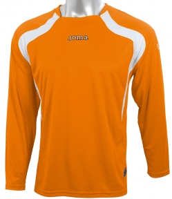 Футболка Joma Champion оранжевая (длинный рукав)
