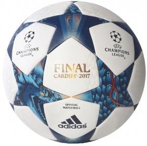 Футбольный мяч Adidas Finale 2017 CARDIFF OMB (AZ5200)