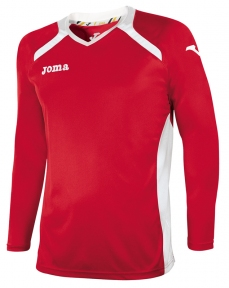 Футболка Joma Champion II красная (длинный рукав)