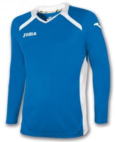 Футболка Joma Champion II голубая (длинный рукав)