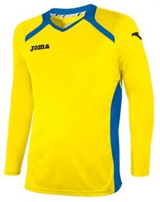 Футболка Joma Champion II желтая (длинный рукав)