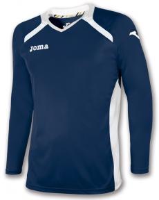 Футболка Joma Champion II синяя (длинный рукав)