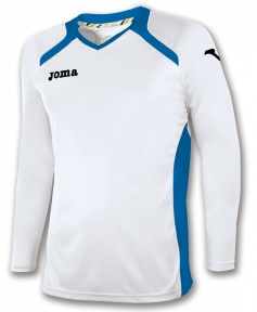 Футболка Joma Champion II белая (длинный рукав)