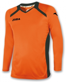 Футболка Joma Champion II оранжевая (длинный рукав)