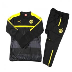 Тренировочный спортивный костюм Боруссии Дортмунд 2016/2017 черный
