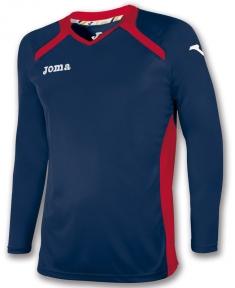 Футболка Joma Champion II темно-синяя (длинный рукав)