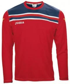 Футболка Joma Brasil красная (длинный рукав)
