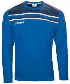 Футболка Joma Brasil синяя (длинный рукав)