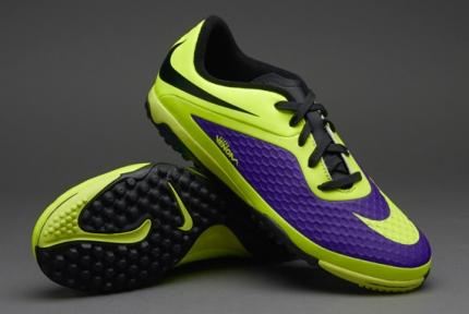 Сороконожки Nike JR HyperVenom Phelon TF (599847-570)
