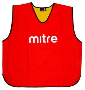 Футбольная манишка Mitre двусторонняя (Т21916RN5)