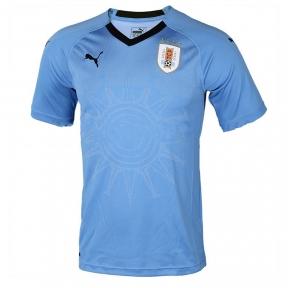 Футбольная форма сборной Уругвая Чемпионат Мира 2018 голубая