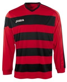Футболка Joma Europa красная (длинный рукав)