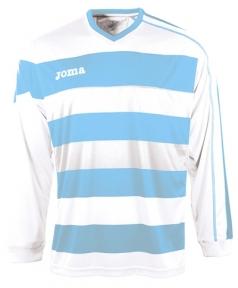 Футболка Joma Europa голубая (длинный рукав)